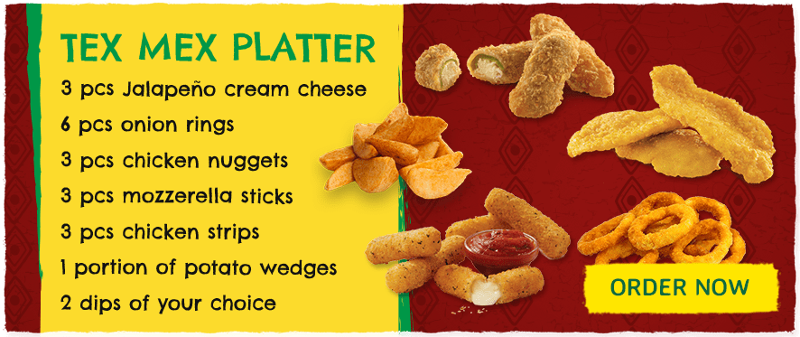 Great value Tex Mex platter